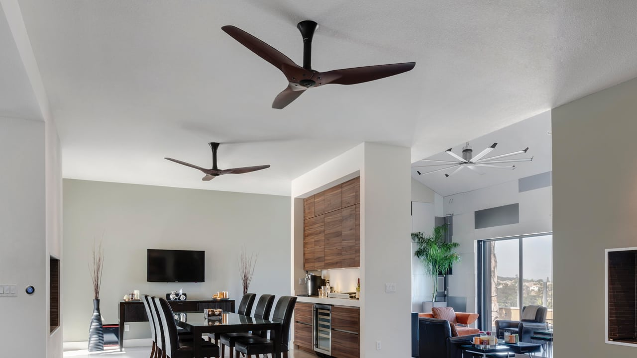 This Smart Ceiling Fan Links With Nest To Make Your AC More Cool While