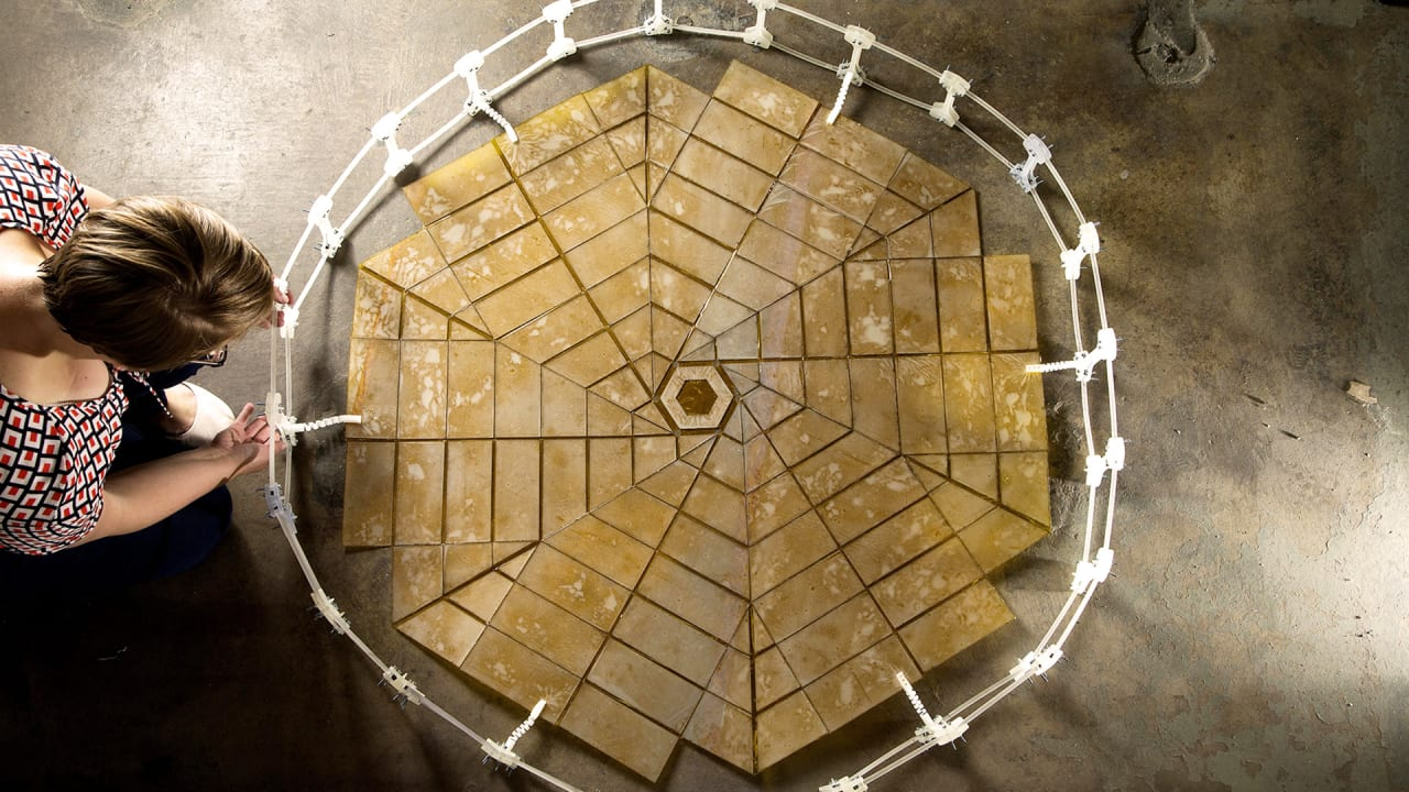 This Origami-Inspired Solar Panel Folds Up To Bring Cheap Power To Space