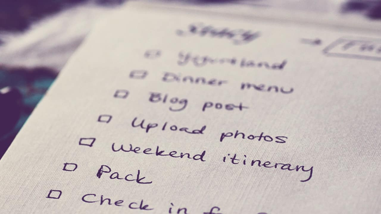 why an anti to do list might be the secret to productivity