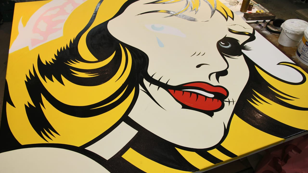 Cobain, Tupac, Winehouse: Street Artist D*Face Portrays Artists Who Burned Bright and Died Young