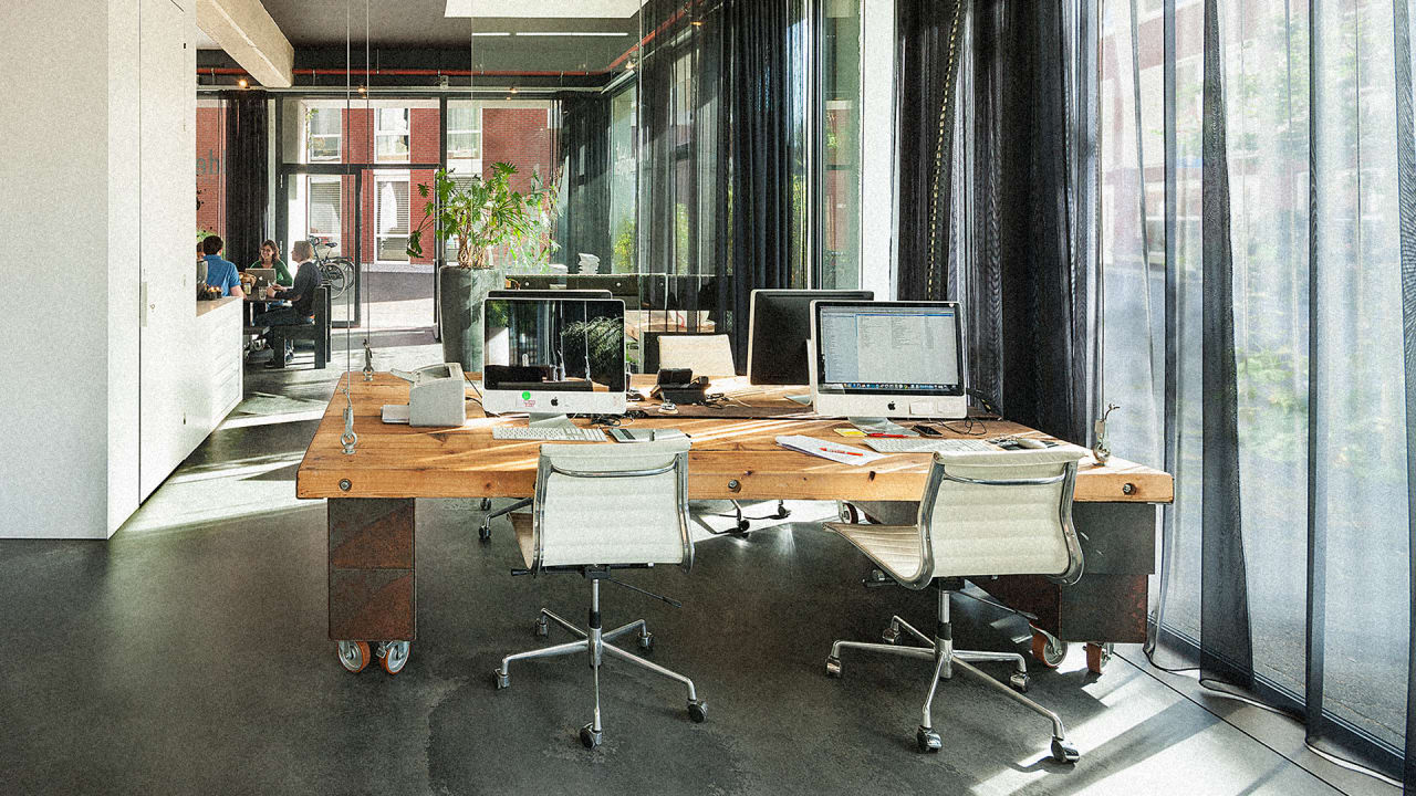 No More Working Late: At The End Of Each Day, This Office Disappears