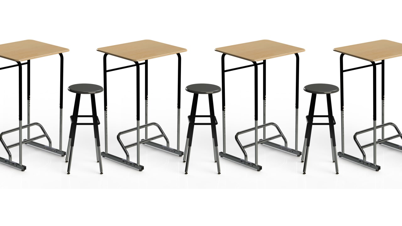 Standing Desks Are Coming To Schools, To Cure Obesity And Increase Attention Spans