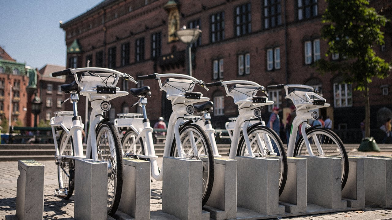 is this the world's best bike-share bike?