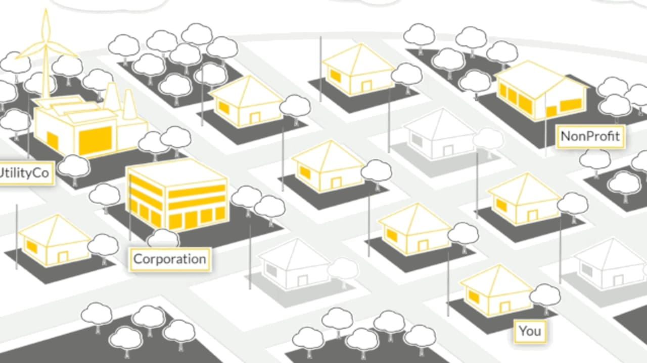 The World's First Community Powered By Crowdsourced Energy?