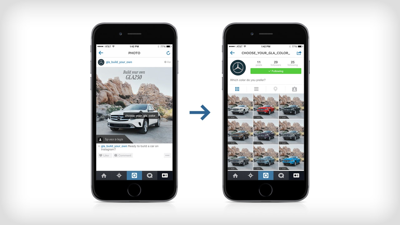 Now You Can Build Your Own Mercedes On Instagram