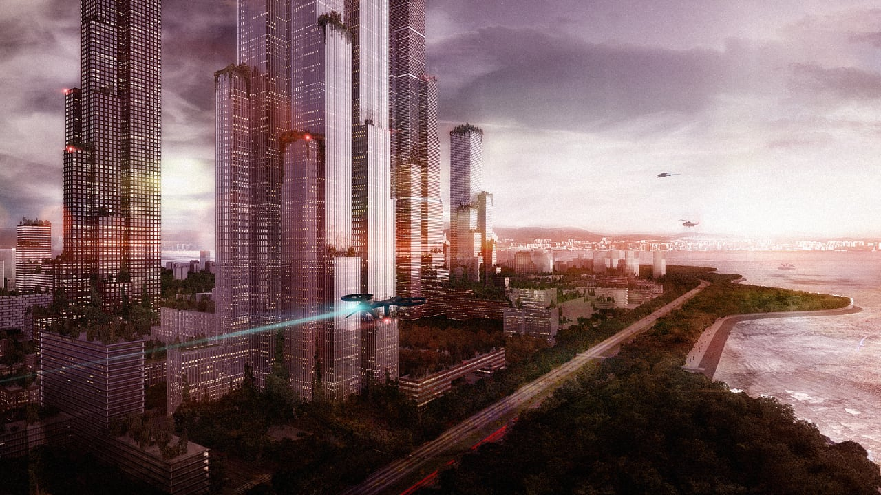 A Plant-Covered, Car-Free Design For The Megacity Of The Future