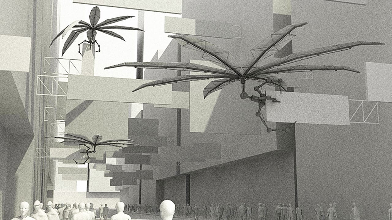 """These """"Parasitic"""" Robots Are Designed To Suck Pollution From City Air"""