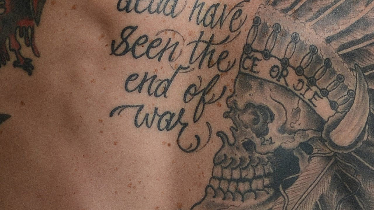 A Powerful Look At Veterans' Tattoos–And The Stories Behind Them