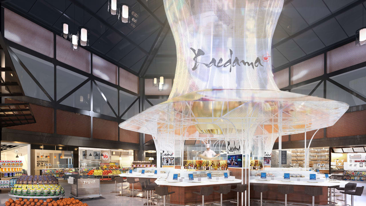 Newark airports new united terminal looks like a foodie theme park malvernweather Gallery