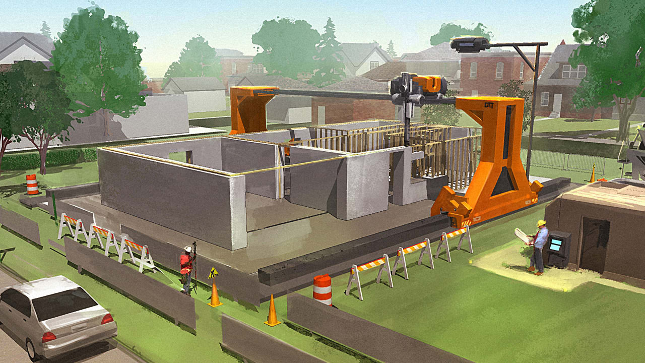 Can 3-D Printed Homes Help Solve Homelessness?