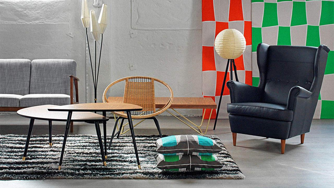 Ikea reissues original midcentury furniture for Original design furniture