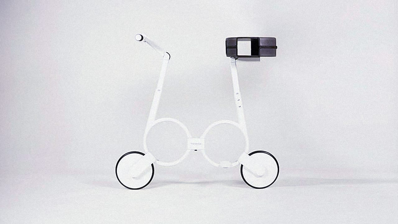 This Electric Bike Folds Up To Fit Inside Your Backpack