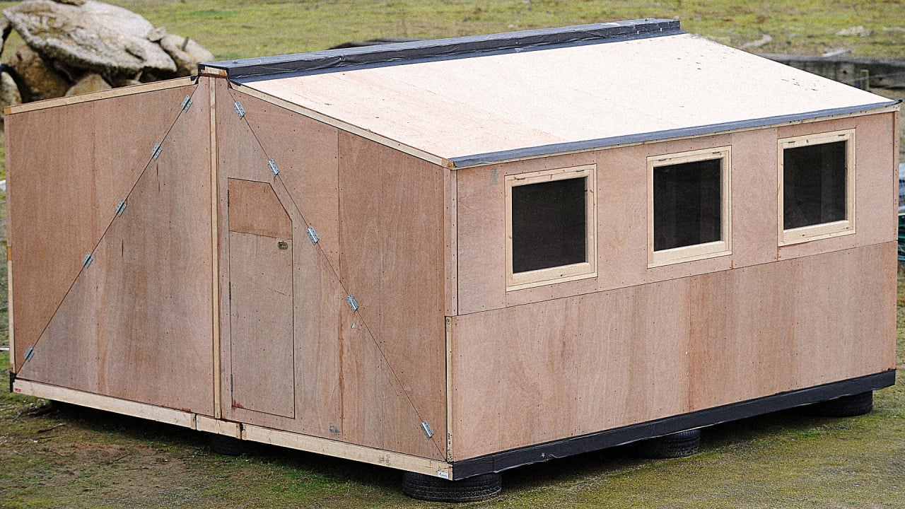 This Disaster Shelter Won't Fall Over In A Hurricane
