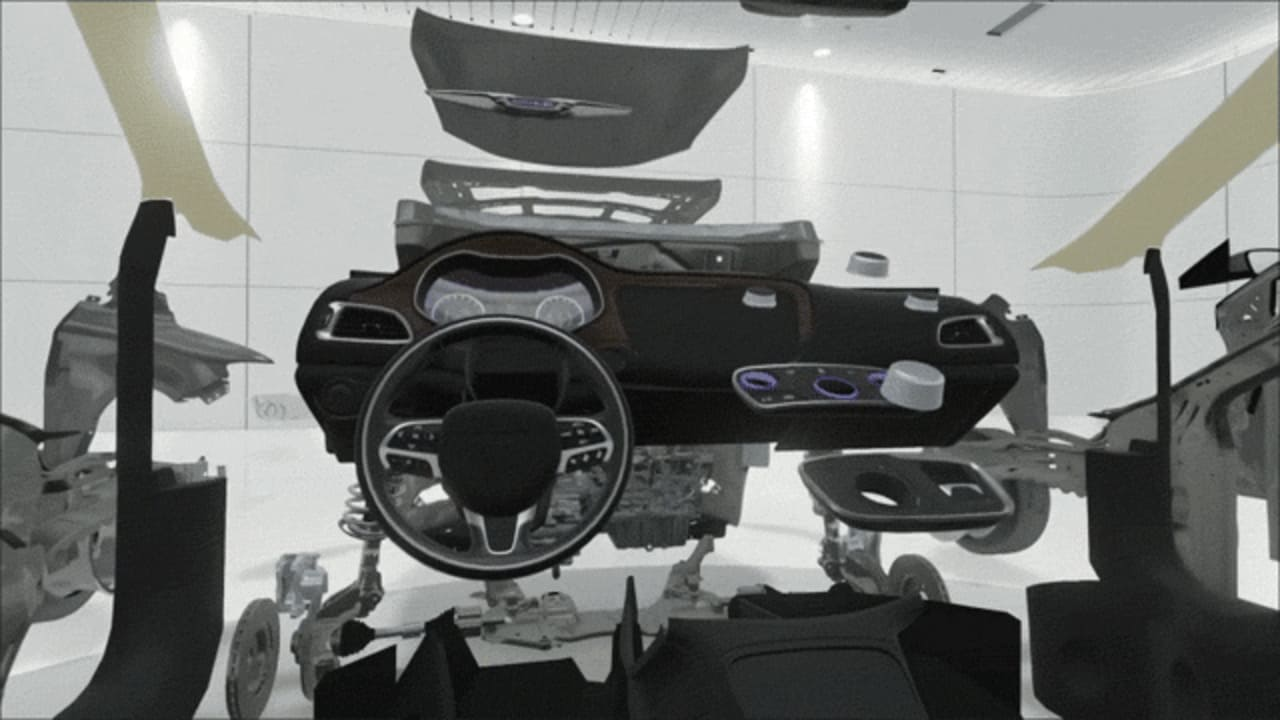 Chrysler Reveals The Finer Details Of Car Production In Virtual Reality
