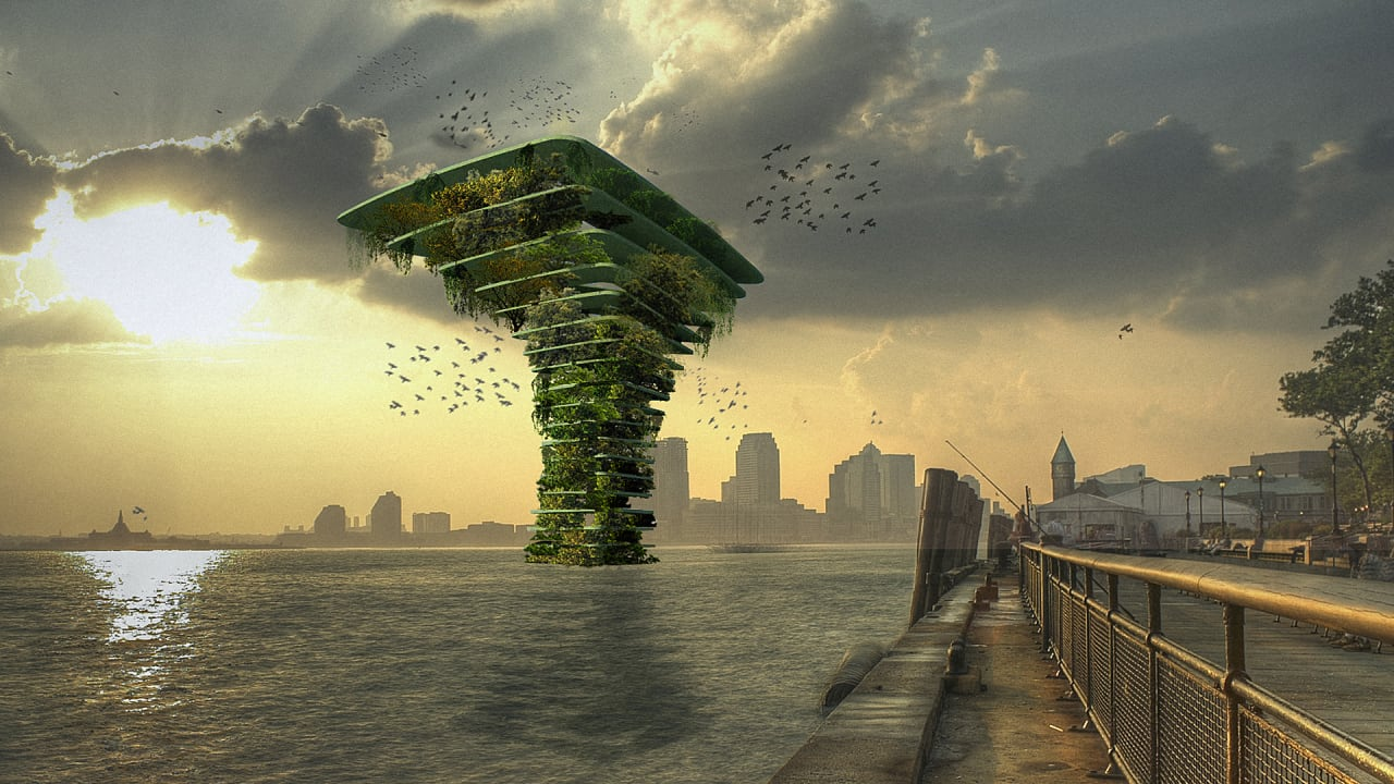 This Giant Tree Protects Urban Wildlife By Keeping It Floating Away From Dangerous People