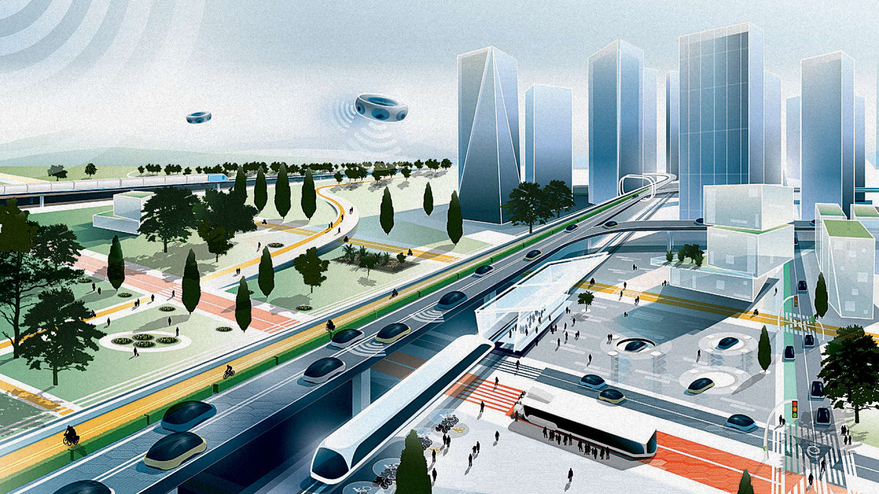 The Highways Of The Future Will Look Very Different From Today