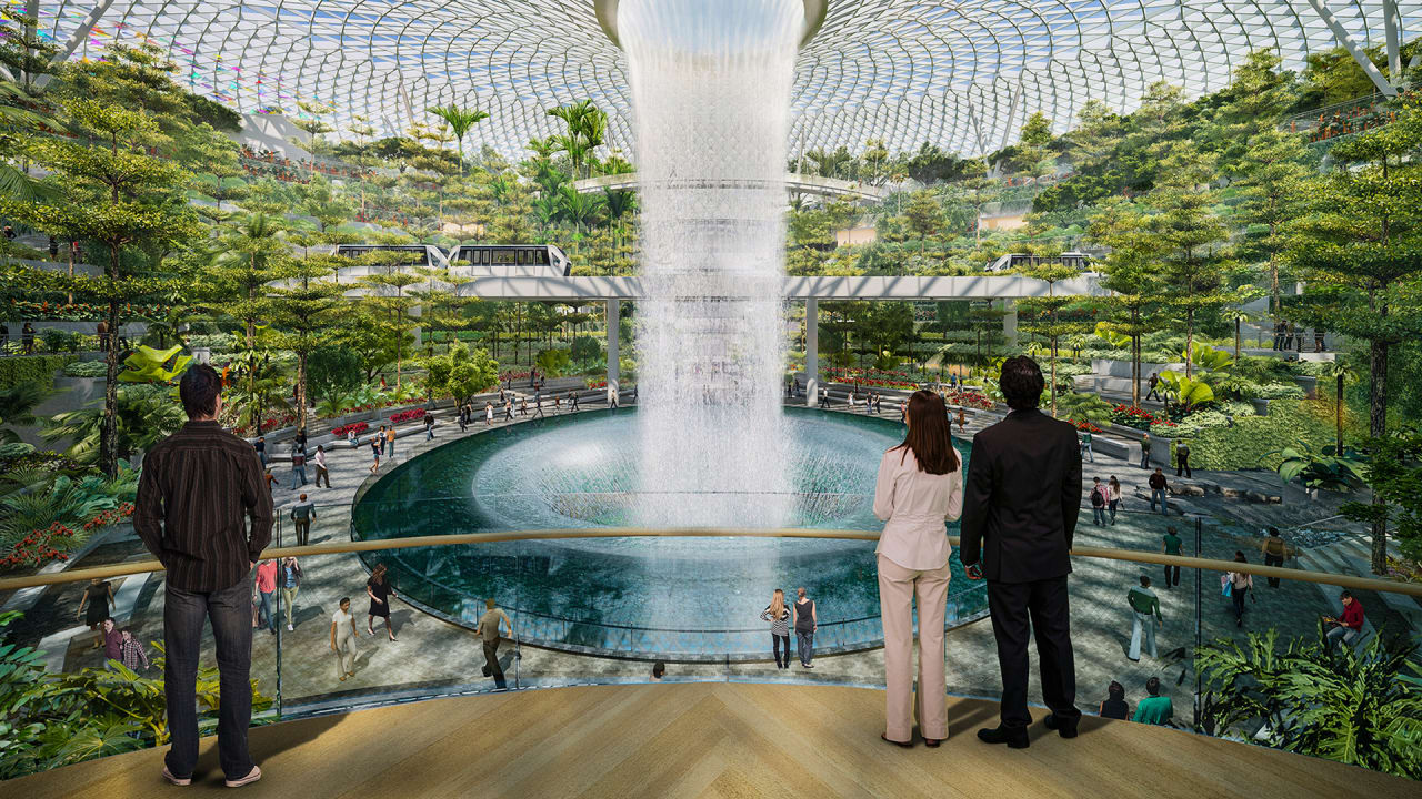 This Incredible Urban Park Will Be Inside One Of The World's Busiest Airports