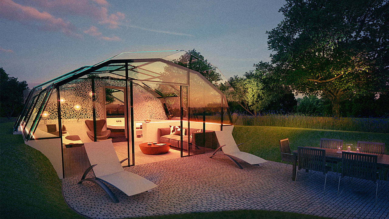 This All-Glass Building Is Designed To Lower Stress And Improve Sleep