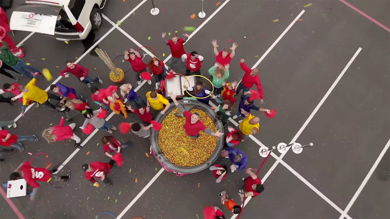 Skittles Gets To Arizona Early In A Weird Teaser For Its First-Ever Super Bowl Ad