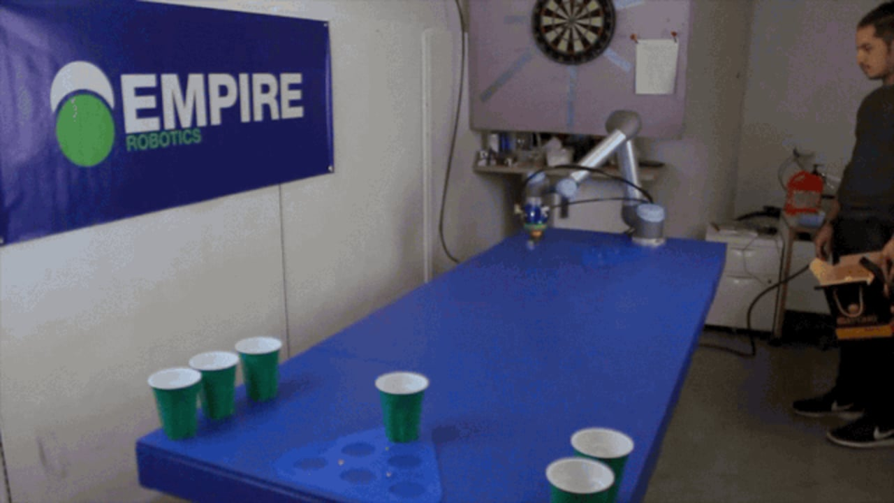This Squishy Robot Will Crush You At Beer Pong–And Then Change How We Make Prosthetics