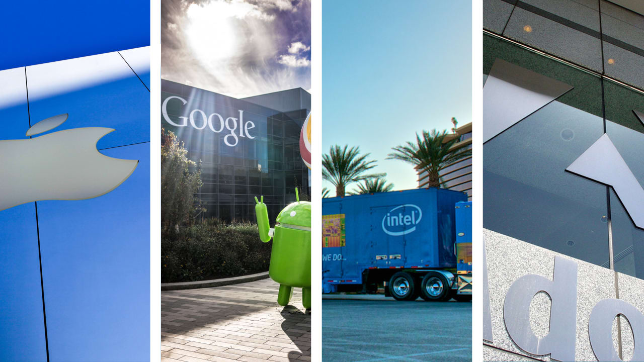 Apple, Google, Intel, And Adobe Agree To Pay $415 Million To