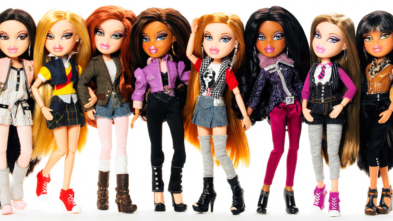 see what bratz dolls look like with desexualized makeunders