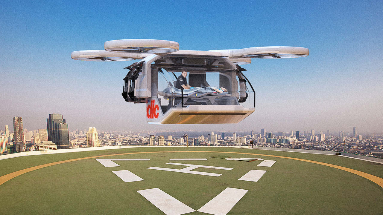 This Drone Ambulance Is Totally Wild And Inevitable