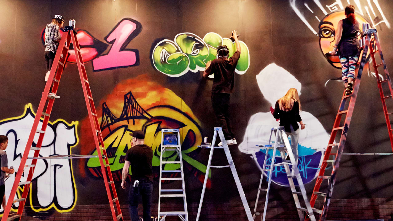 Street Artists Compete For Bragging Rights And Cash In A New Reality Show Hosted By BUA