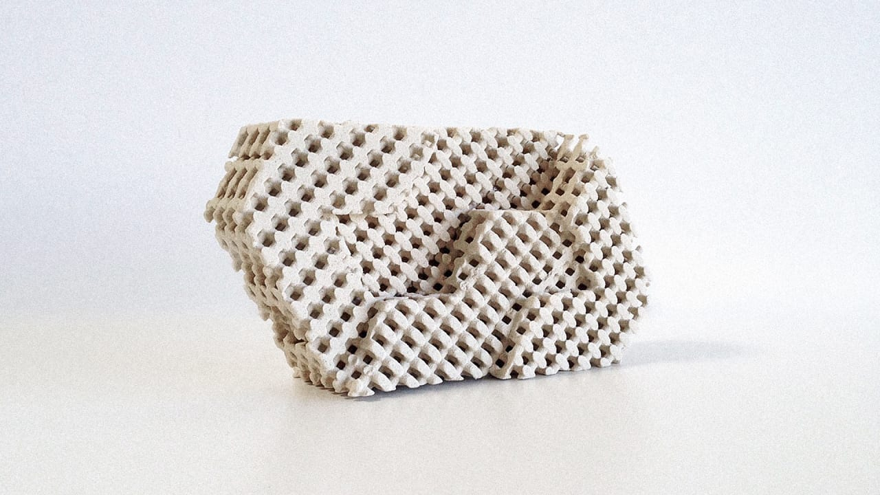 These 3-D Printed Bricks Cool Rooms Without Air Conditioning