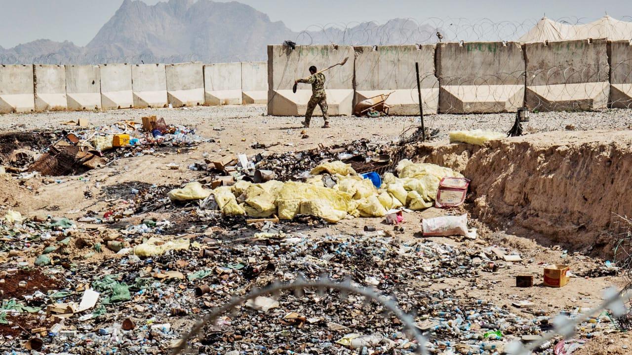 Disturbing Waste In Afghanistan How The U S Trashed