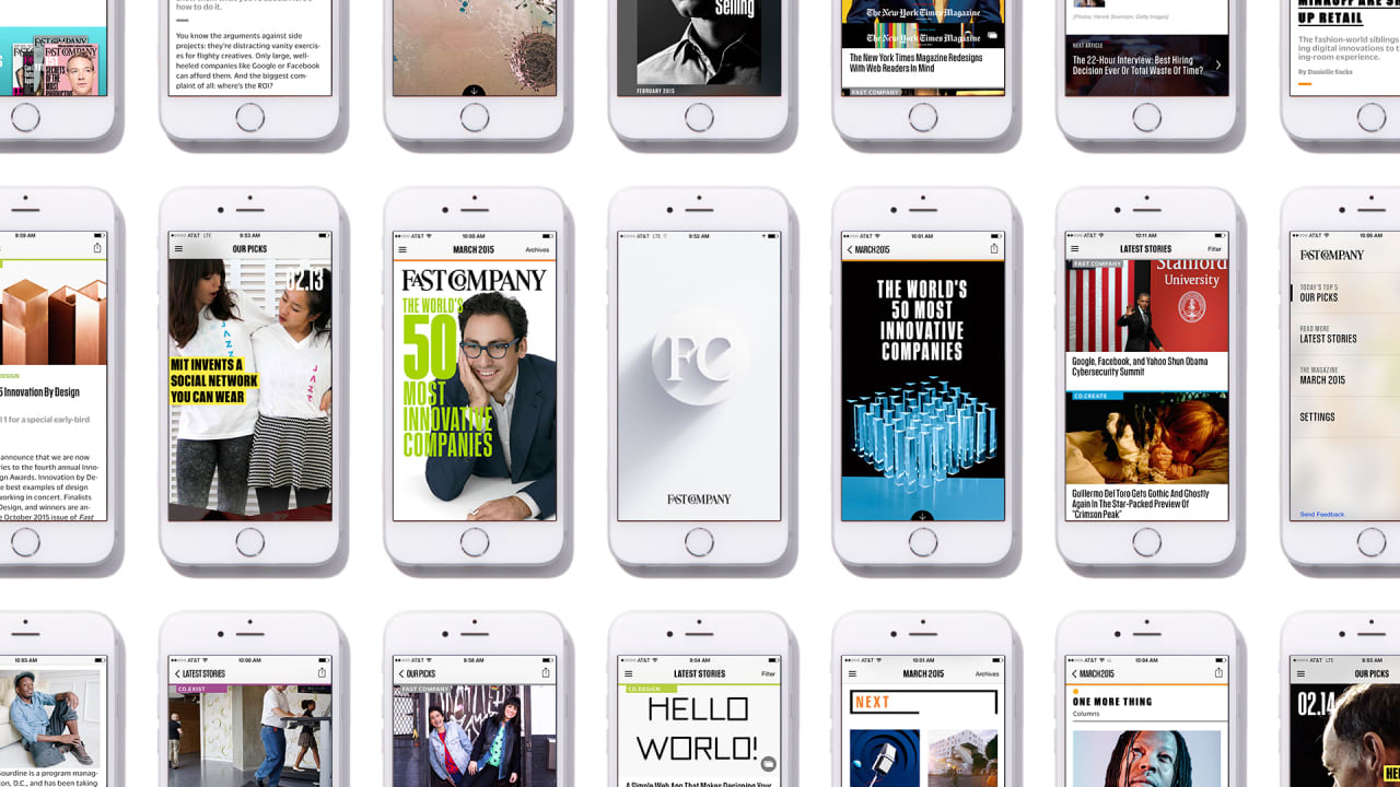 announcing fast company's new mobile app