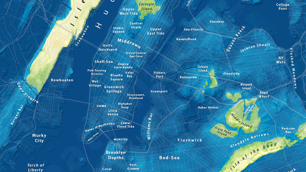 Heres What New York City Would Look Like After Extreme SeaLevel Rise