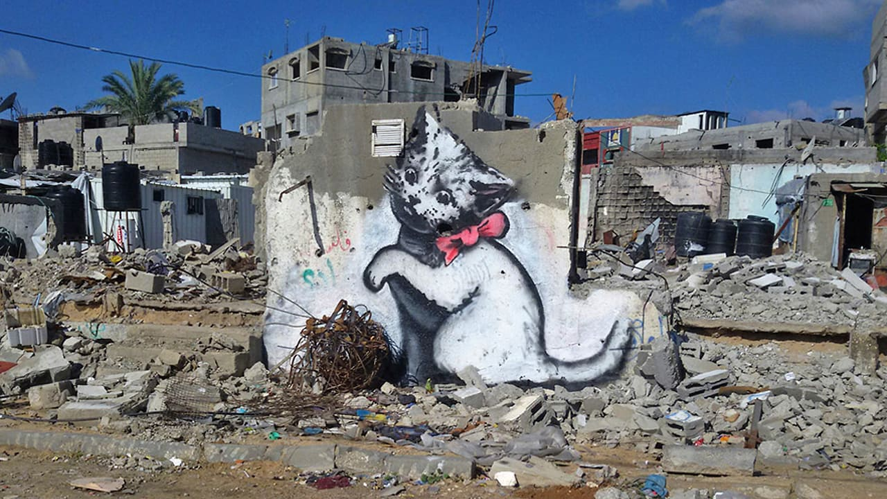Banksy Returns With a Faux-Tourism Video About Gaza That Will Make You Think