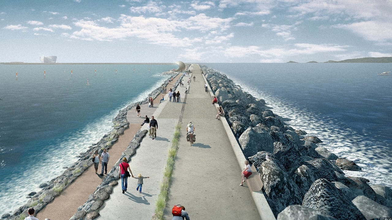 The UK Is Building 6 Electric Lagoons To Generate Electricity From The Tides