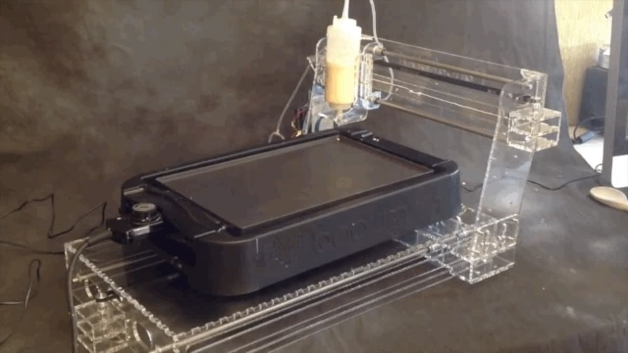 The PancakeBot Will 3-D Print Your Breakfast And Turn It Into Art