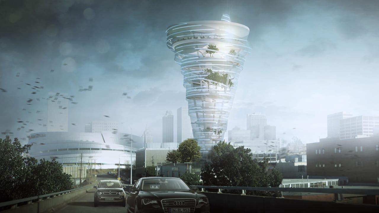 This Incredible Oklahoma Building Design Looks Like A Tornado