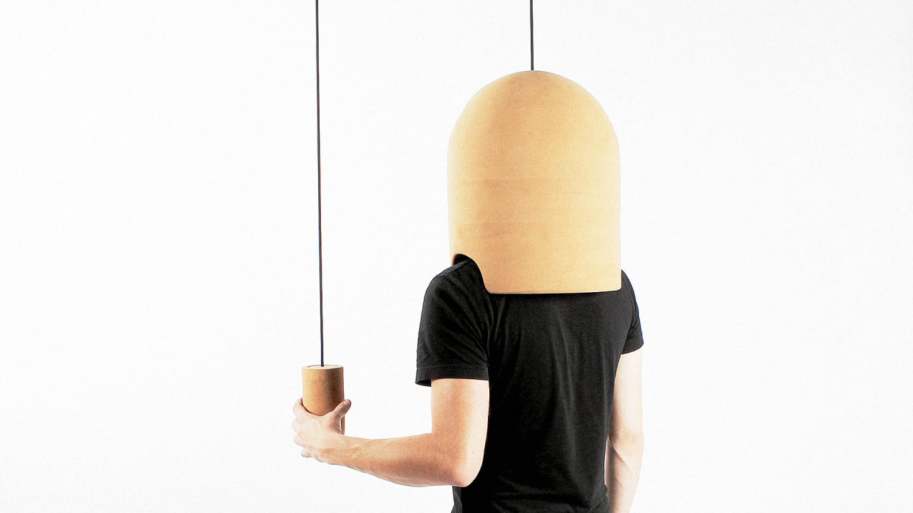 Drown Out Annoying City Noise With This Crazy Cork Helmet