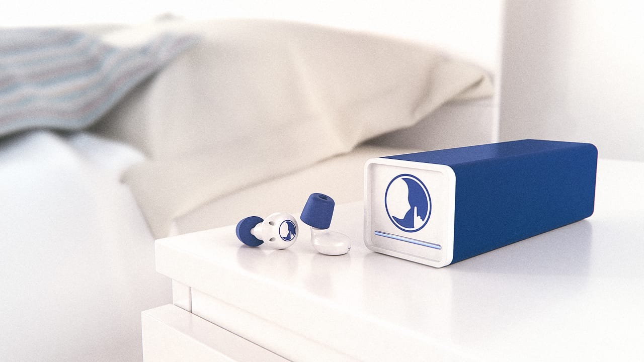 Get Some Real Sleep, With This White-Noise-Generating Nighttime Earplug