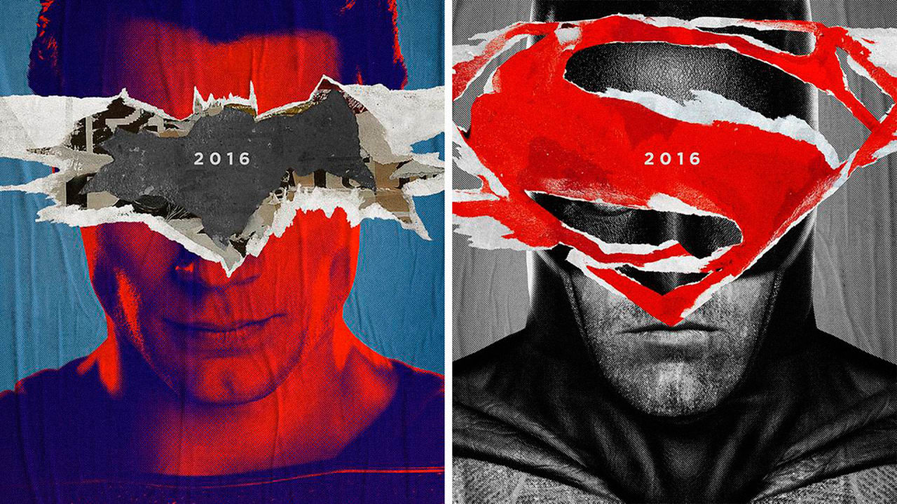 """If The Trailer Didn't Excite You Enough, The Official """"Batman V Superman"""" Posters Might Do The Trick"""