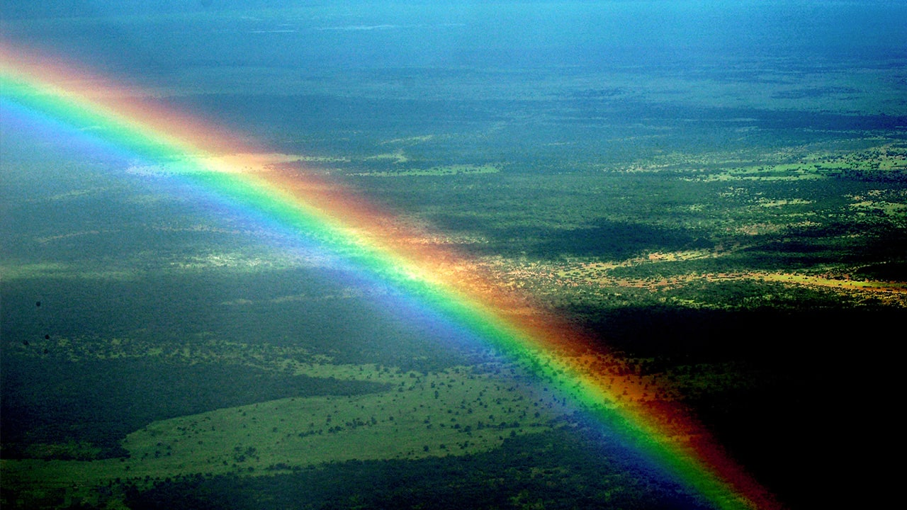 that quadruple rainbow you u0027ve been freaking out about is not really a