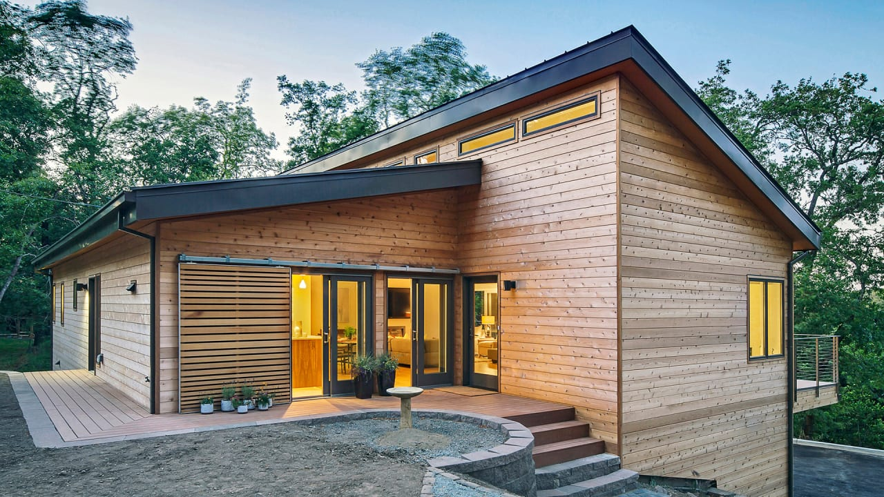 You d never guess these gorgeous net zero houses were for Net zero home designs