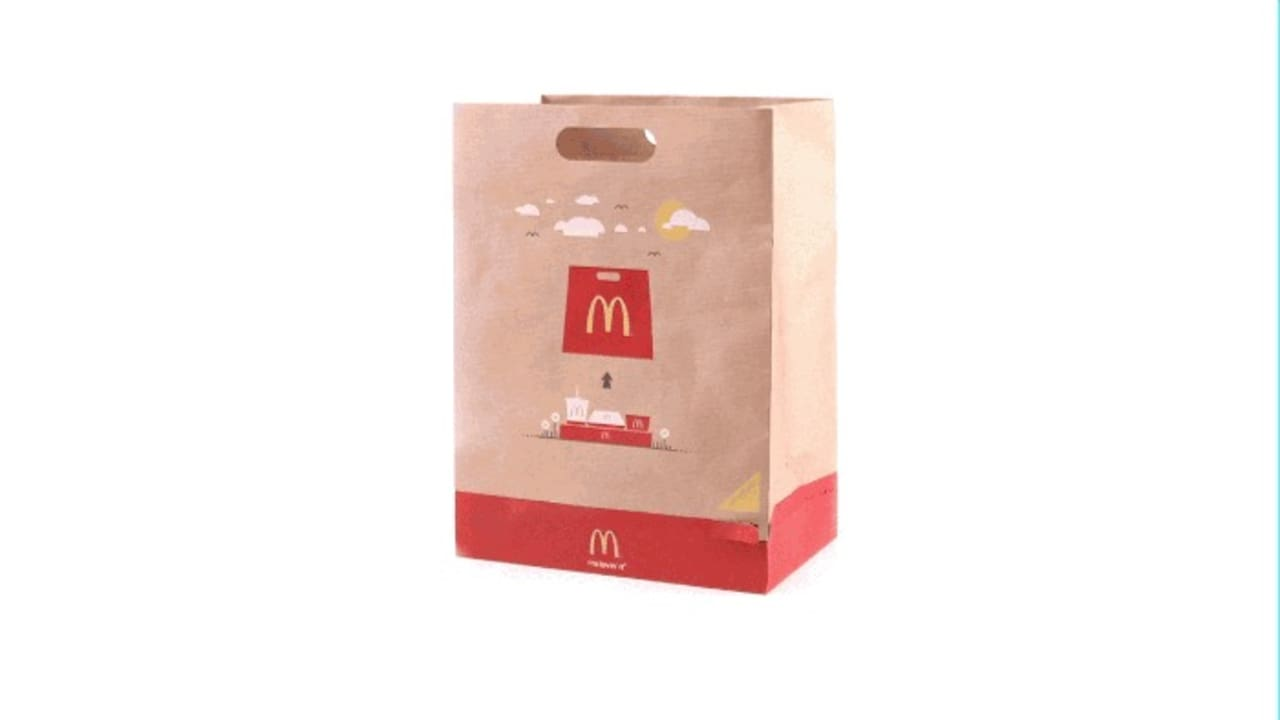 McDonald's Solves A Messy Takeout Problem With A New Bag That's Also A Tray
