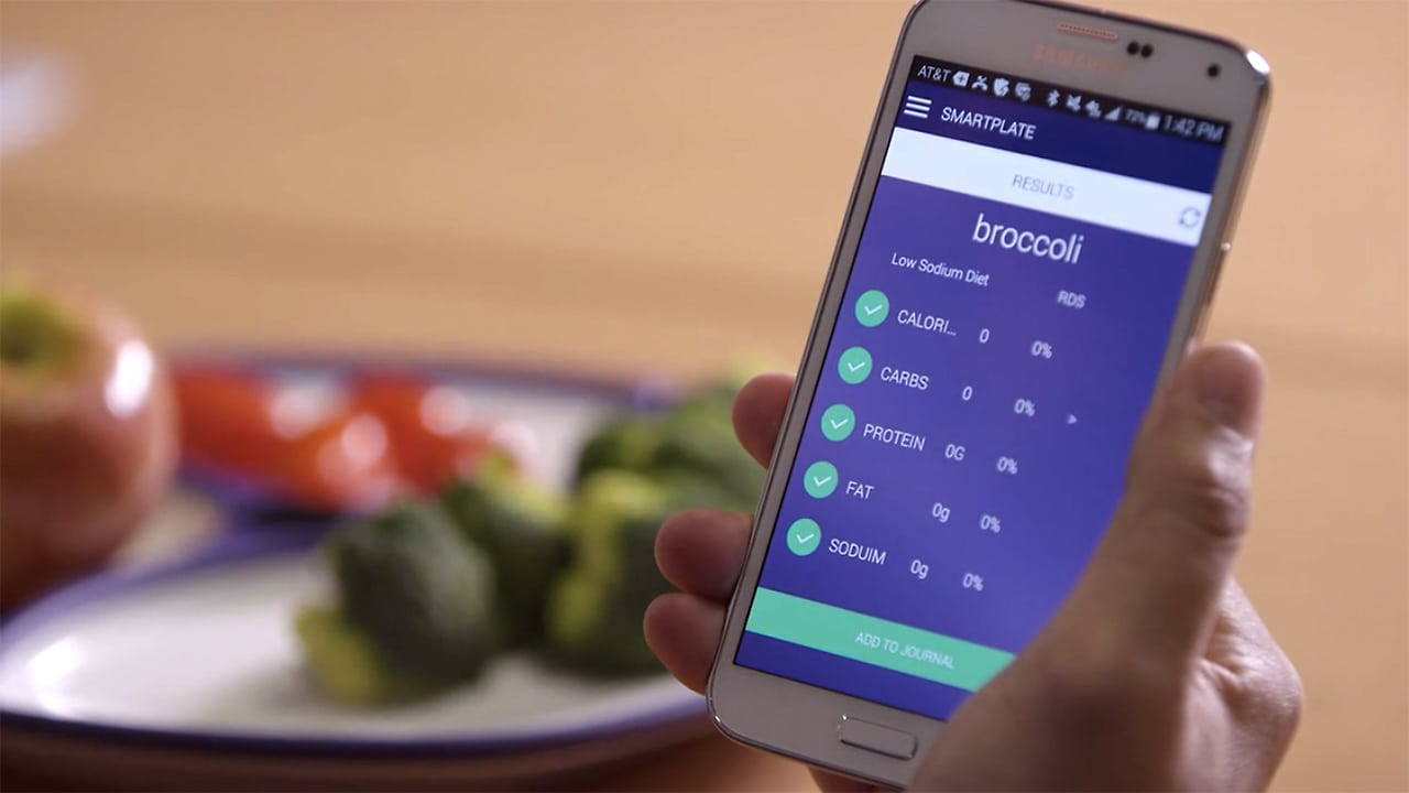 This Smart Plate Tells You How Many Calories You're Eating–And Whether You're Eating Too Fast