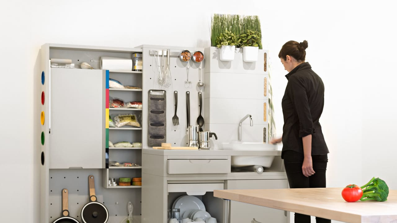 In Ikea's Kitchen Of The Future, You Won't Have A Fridge, But You Will Have Drones
