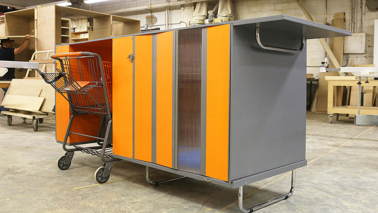 Mobile Survival Shelters : Does this portable homeless shelter on wheels help solve