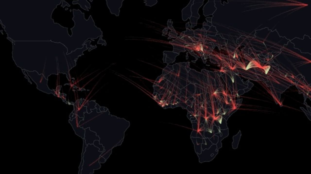 The Movements Of Refugees Fleeing Their Homelands, Tracked In One Beautiful Song