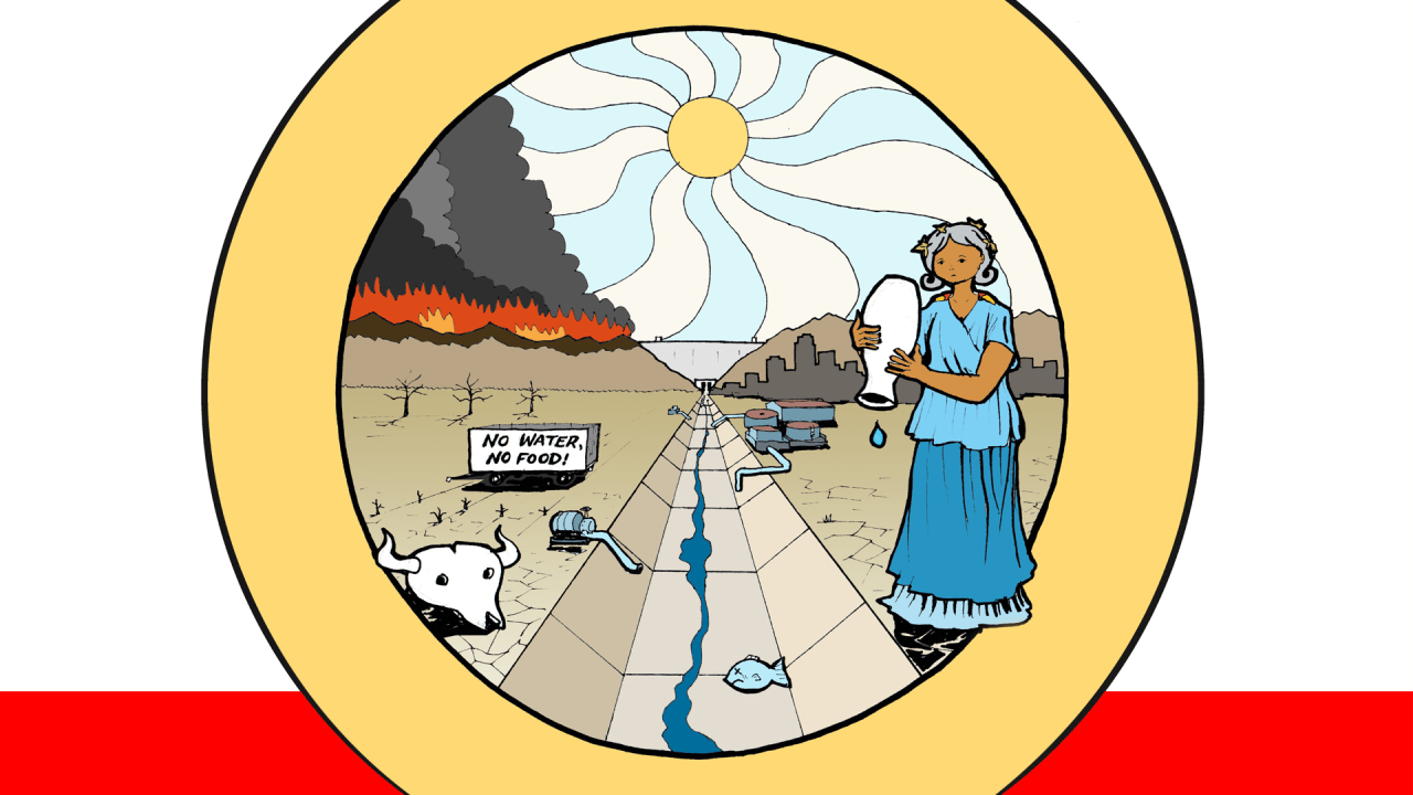 Who Wants To Solve California's Water Crisis? A Role-Playing Game Will Test Your Political Skills