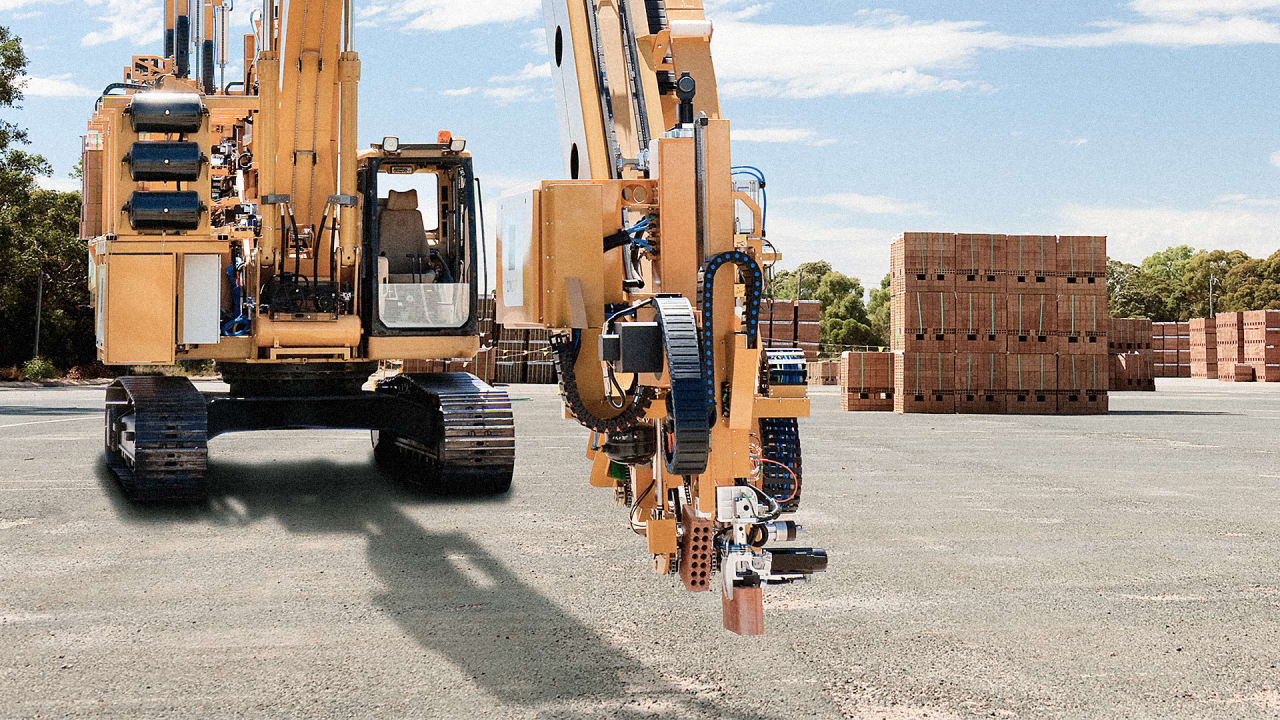 Watch Out Bricklayers, This Robot Is Coming For Your Job