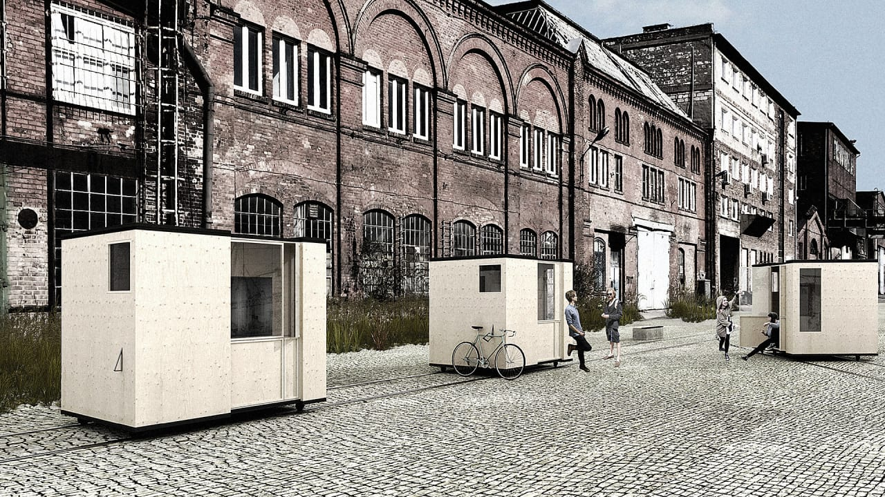 This Tiny, Moveable House Is Only Half The Area Of A Parking Space