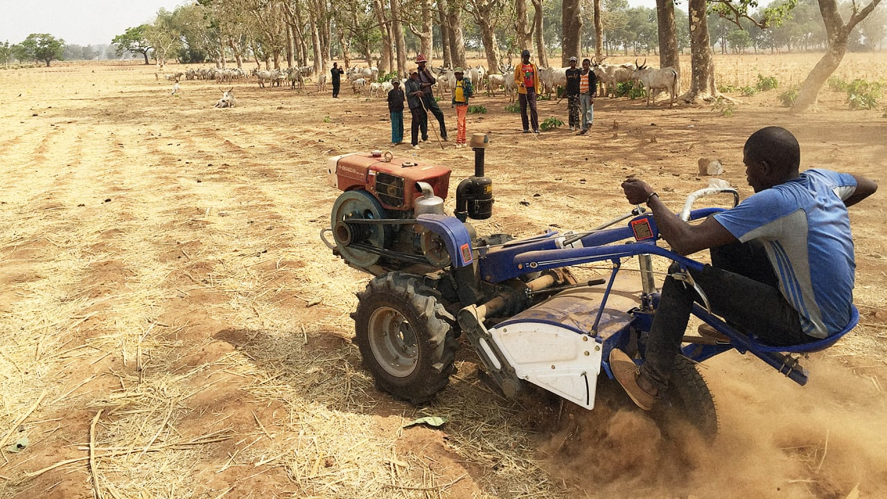 An Affordable Smart Tractor For African Farmers And Their